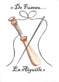 Logo De Fuseau en Aiguille